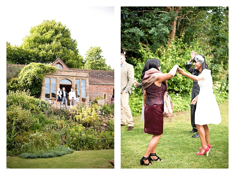 An uber cool, vintage tea party wedding with a touch of festival and a dash of theatricality!