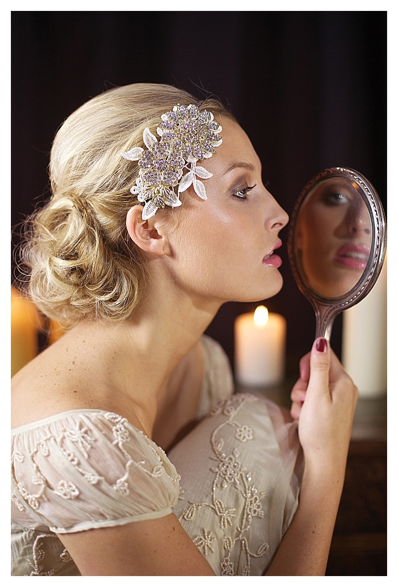 achingly pretty vintage hair accessories - uk wedding blog