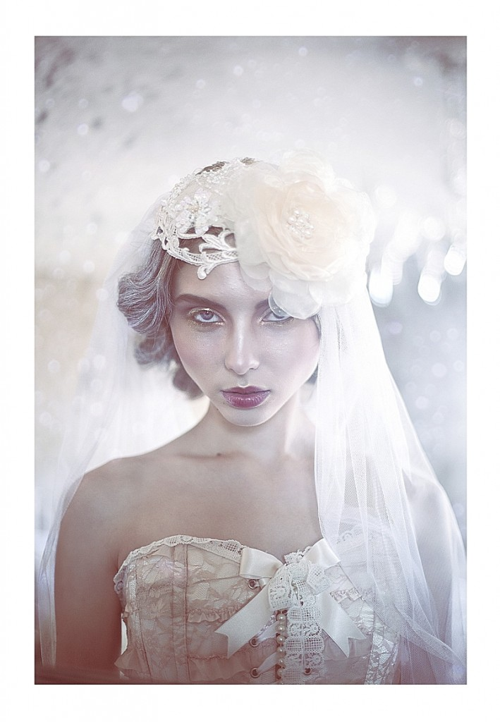 Jannie Baltzer Headpieces~ Caitlin Bellah Photography