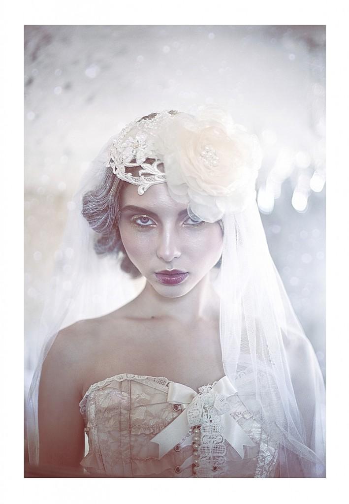 Jannie Baltzer Headpieces~ Caitlin Bellah Photography