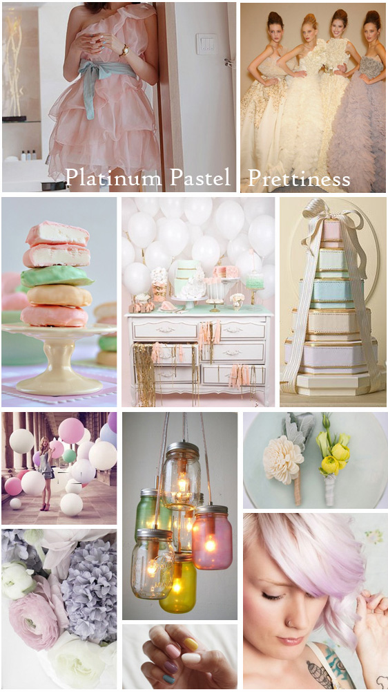 Platinum Pastel | Wedding Inspiration