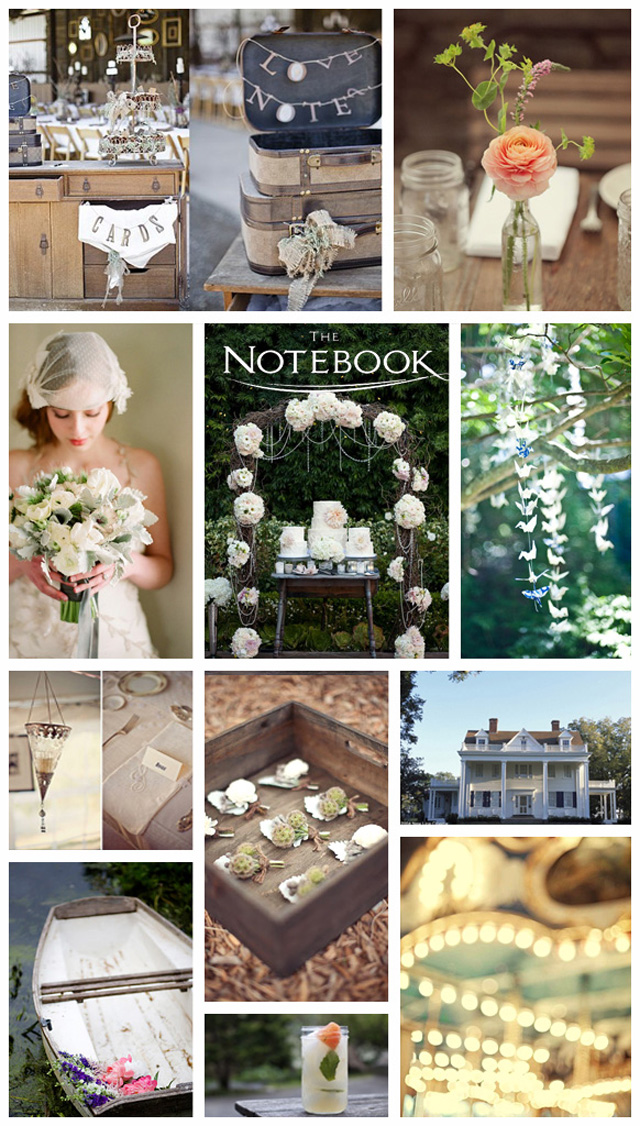 The Notebook | Wedding Inspiration