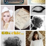 60s Chic bridal inspiration {mood board}
