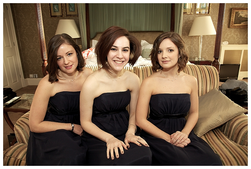 Black bridesmaid dresses ~ gorgeous