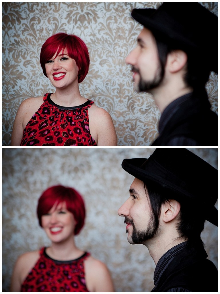 A very Rock n' Roll engagement shoot