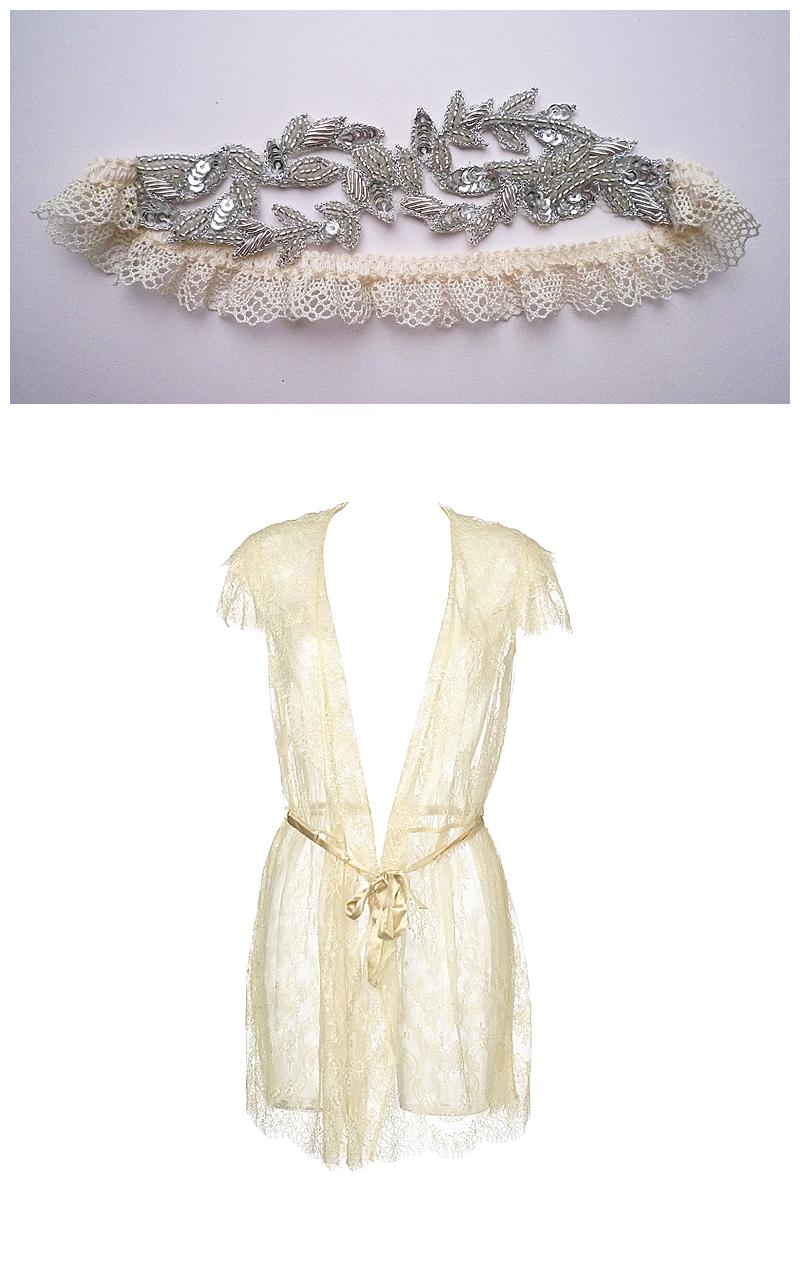 Fox & Rose- Florrie Mitton- Aphrodite Bridal Garter - £50
