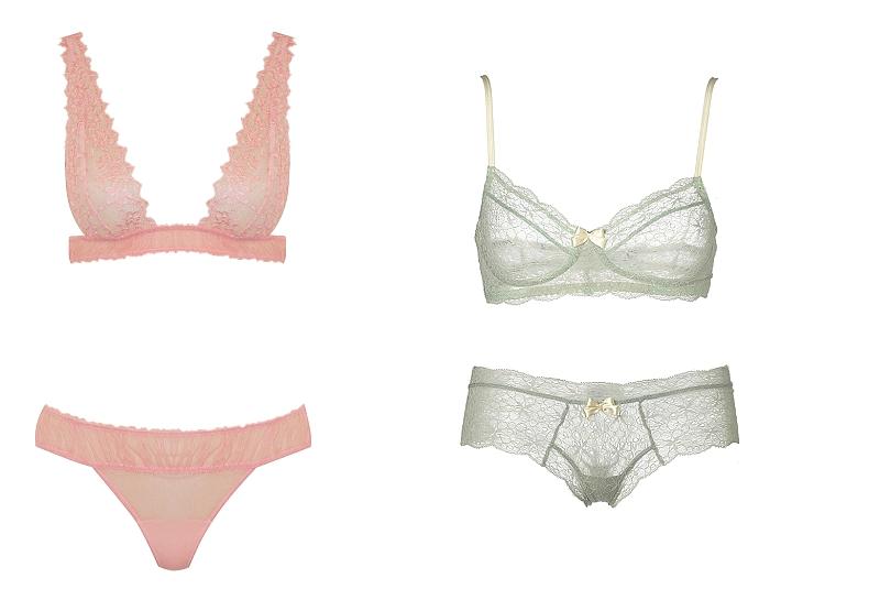Fox & Rose - La Perla - Pale Pink Bra- £182 Brief- £106