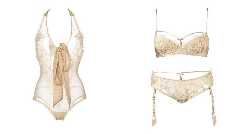 Fox & Rose - Shell bell Couture - Dusty Pink Body - £124