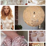 Lovely lace... bridal inspiration {mood board}