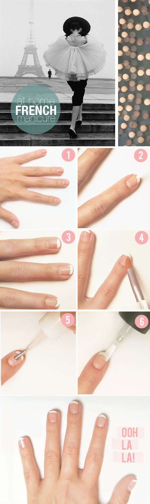 French Manicure Tutorial ~ TBDlaurenfrench12