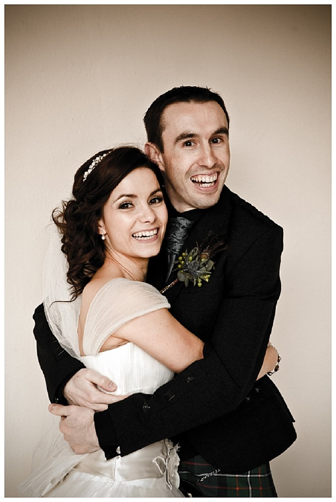 Tangled up in love! A gorgeous scottish wedding!
