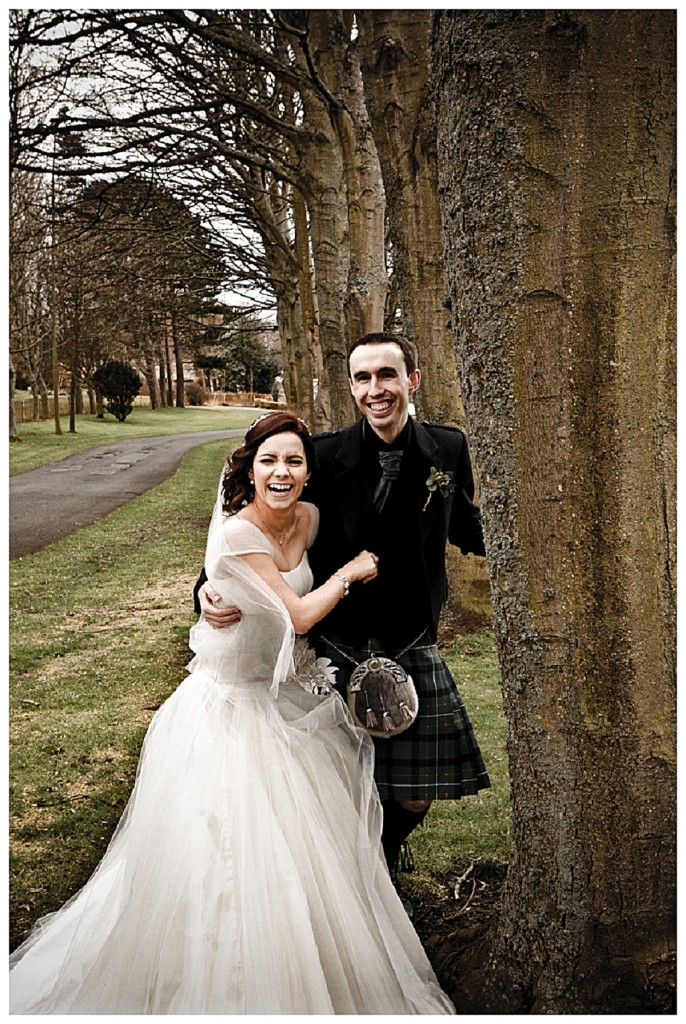 Tangled up! A gorgeous scottish wedding!