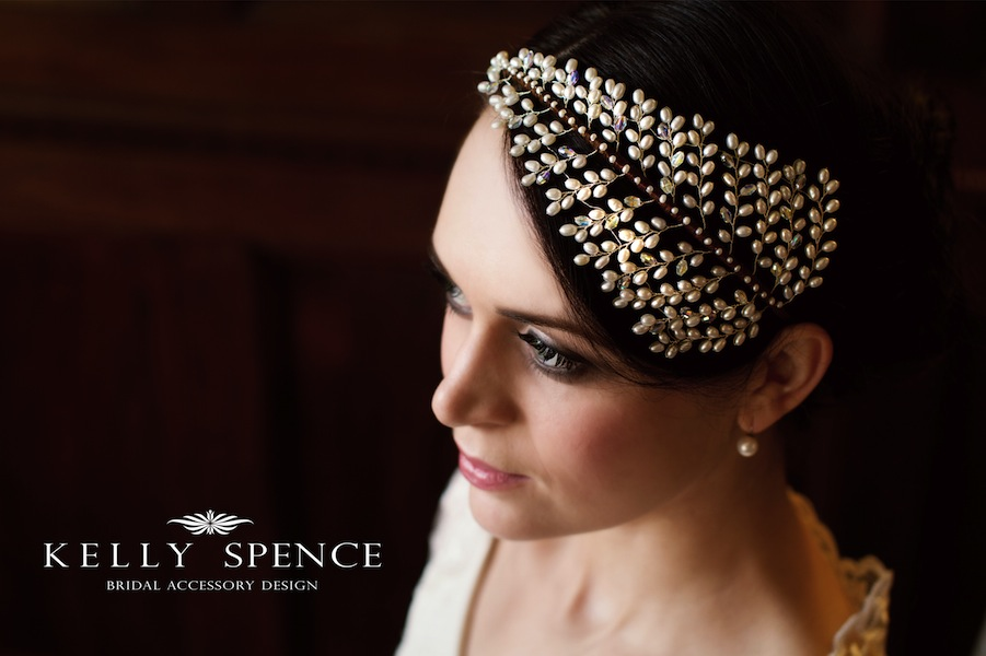 Kelly Spence ~ Stunning Vintage & Contemporary Hair Accessories, Veils & Jewellery