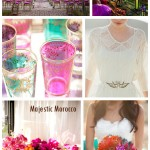 Majestic Morocco bridal inspiration mood board