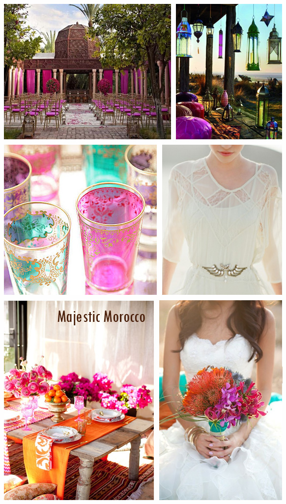 Moroccan Magic | Wededing Inspiration