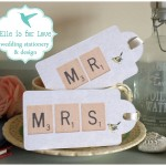 Scrabble Wedding Stationery Suite