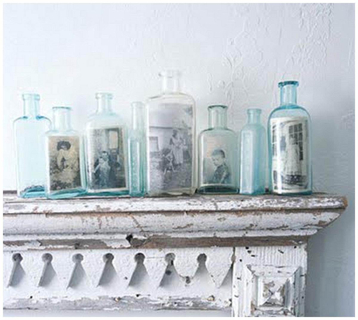 Pretty little bottles | wedding decor ideas