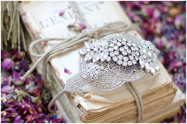 french shabby chic vintage glam bridal