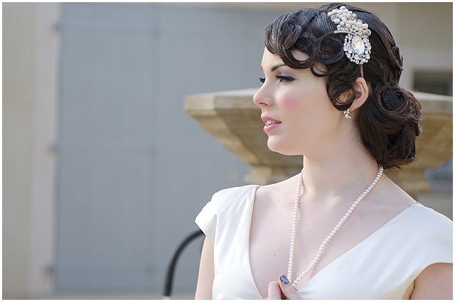 A french shabby chic bridal shoot