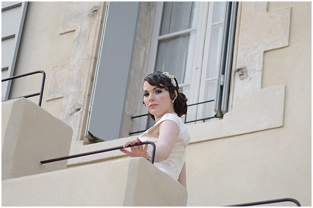 A french shabby chic bridal shoot with a vintage glam twist