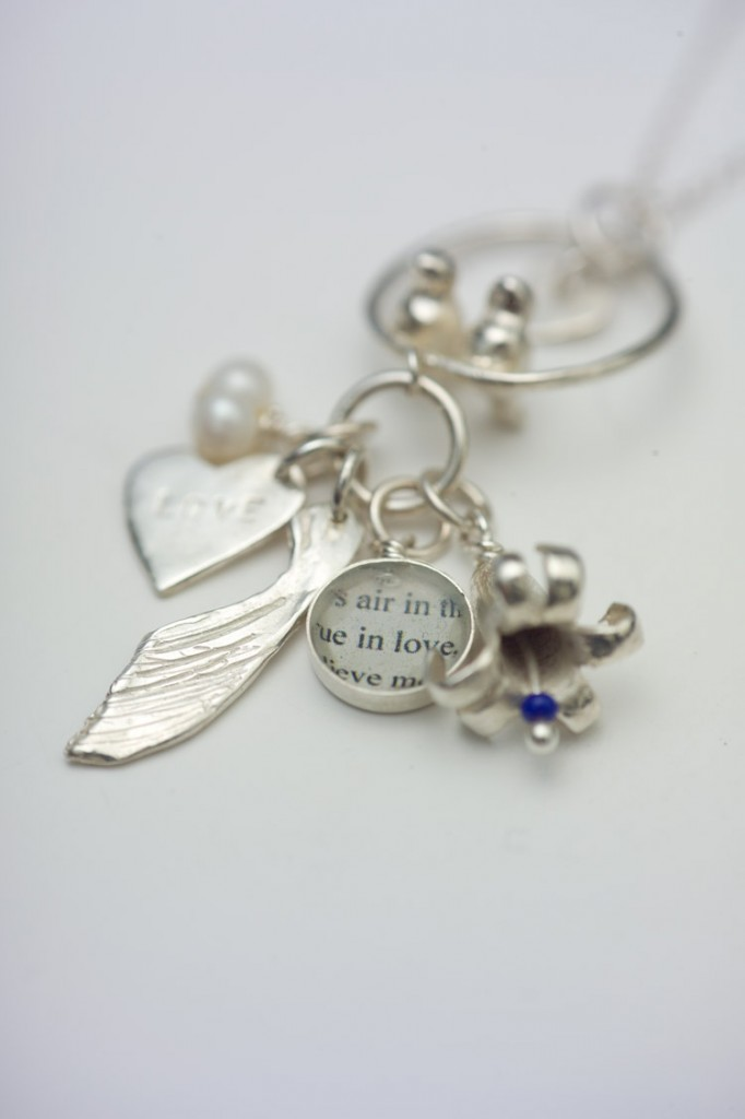 Beautiful Cluster Charm ~ Something Forever, something old, something new, something borrowed, something blue