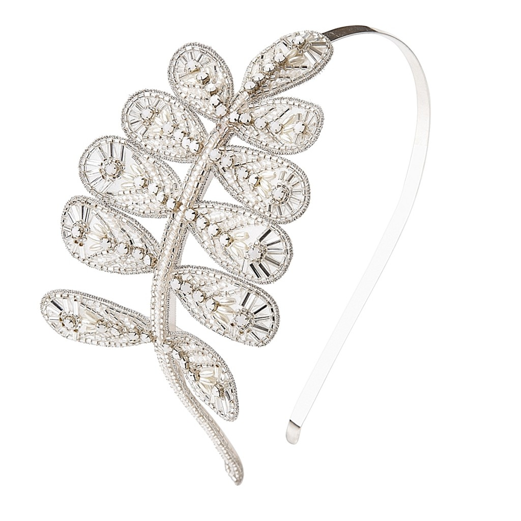 Crystal Leaf band ~ emmy shoes & accessories