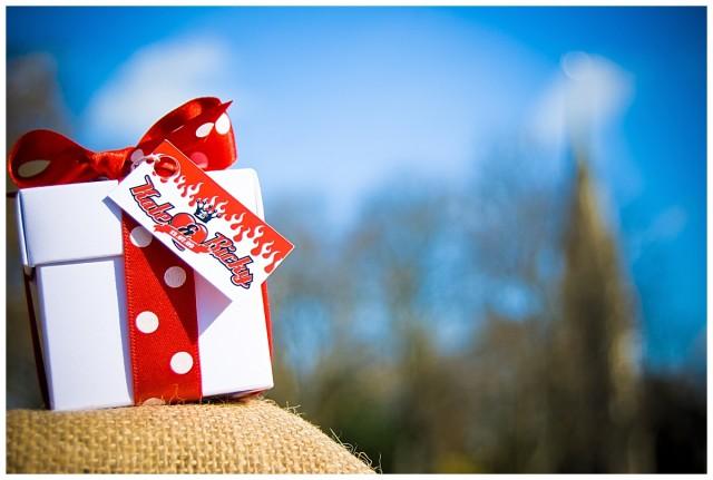 Alternative wedding favour boxes