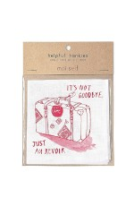 Moi Self ~ hand screen-printed hankies…