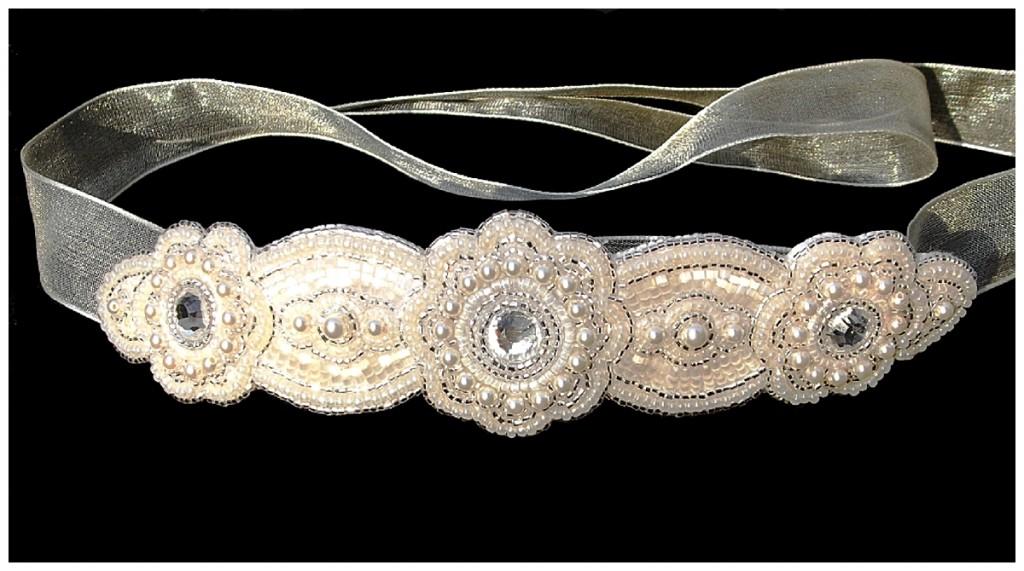 Luxury Headband ~ Rose Garden Accessories