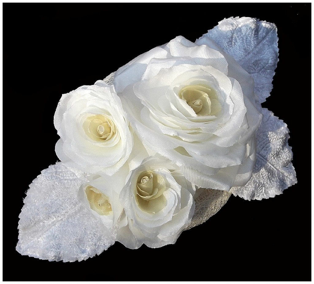 Rose Headpiece ~ Rose Garden Accessories