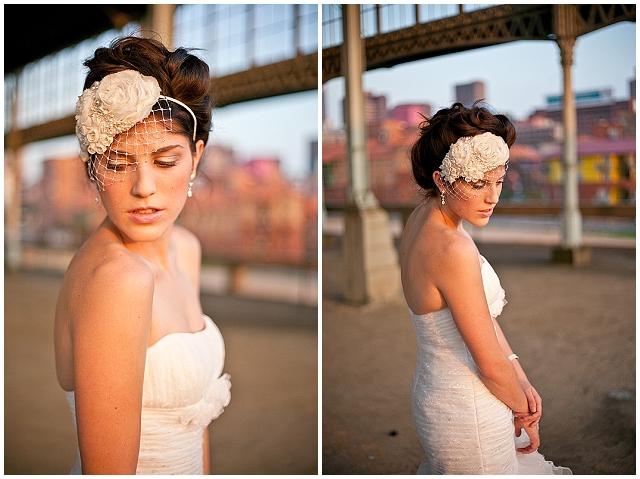 Urban balloons ~ a really cool J'burg bridal shoot!