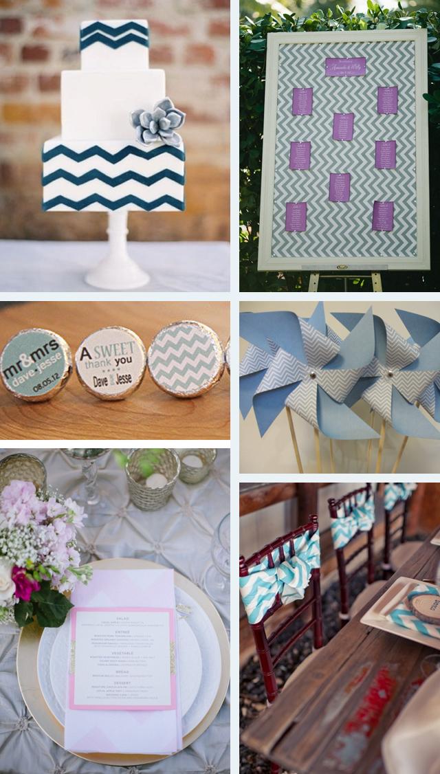 Chevron Love! Wedding Inspiration & Ideas