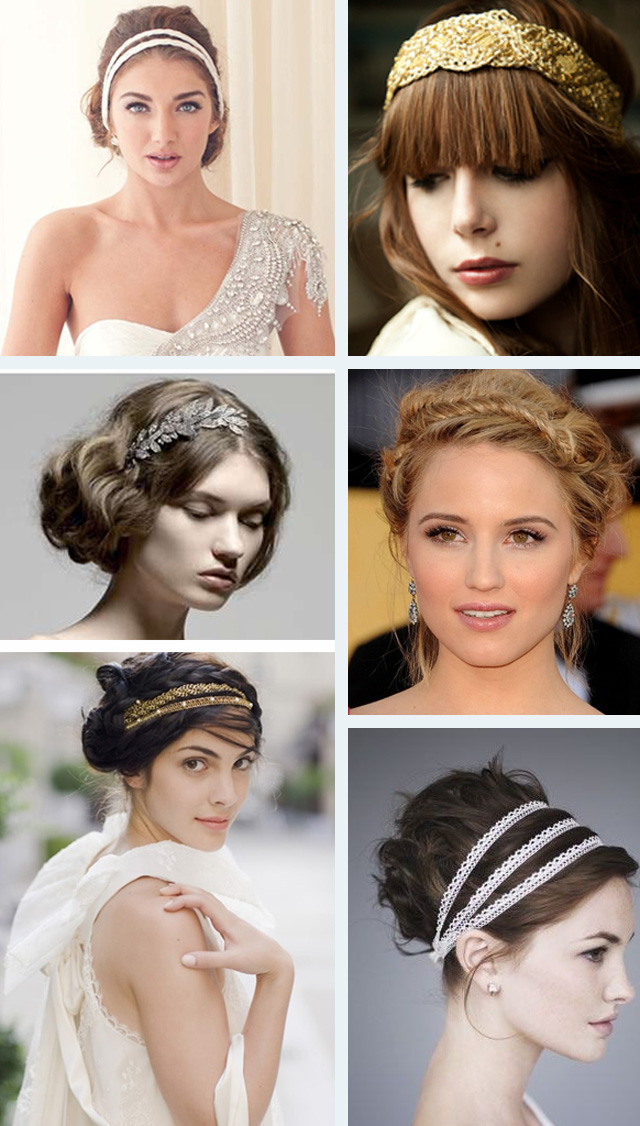 Get the grecian goddess look ~ Bridal inspiration