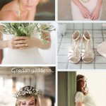 Grecian goddess ~ bridal inspiration