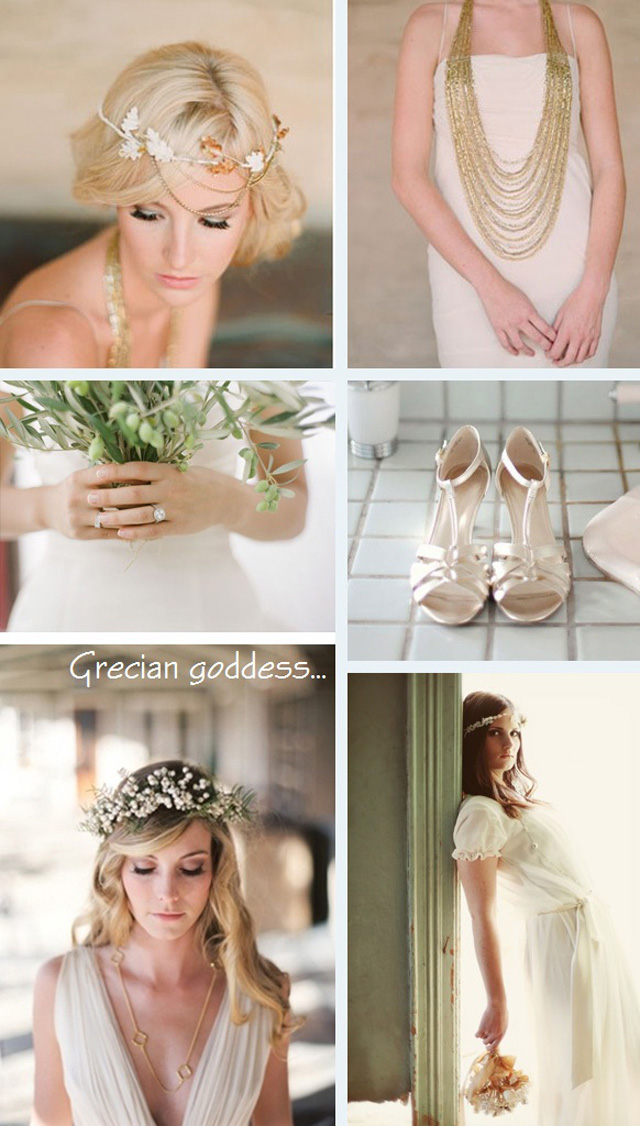 Gorgeous Grecian Goddess Wedding Inspiration Want That