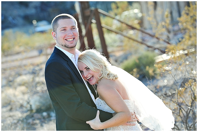 An intimate wedding in a quirky little ghost town!