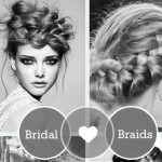 Beautiful bridal braids