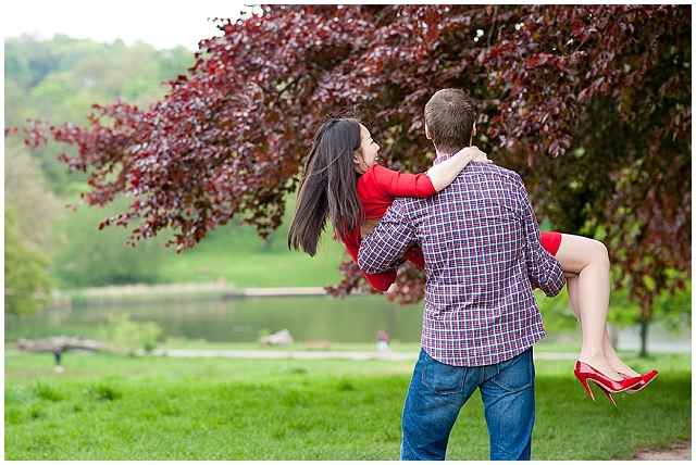 Hampstead heath love shoot! Engagement Shoot Ideas