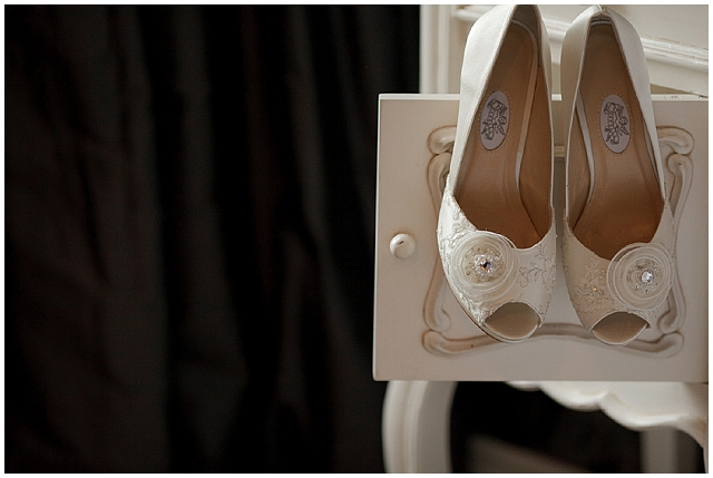A pink wellies wedding with vintage styling