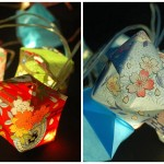 origami lights via etsy