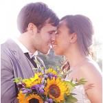 East London & Sunflowers ~ Real Wedding