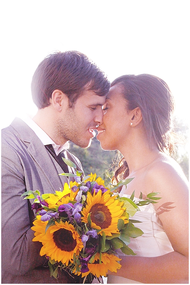 East London & Sunflowers ~ Real Wedding