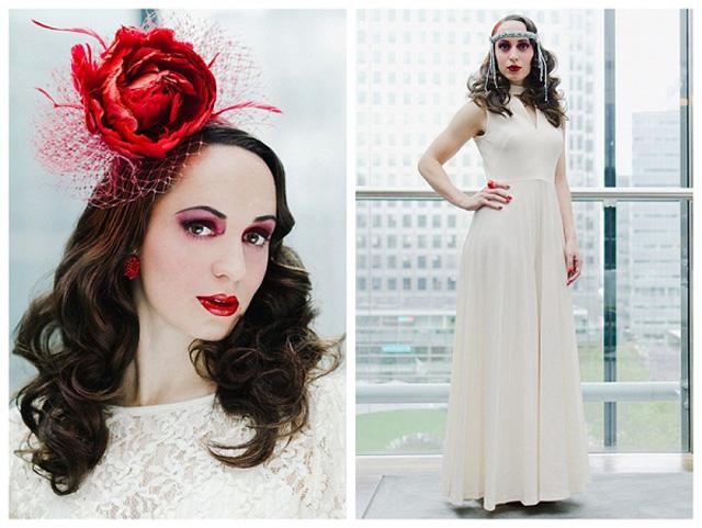 Want That Wedding Vendor: Dita Florita | Original Vintage Wedding Dresses