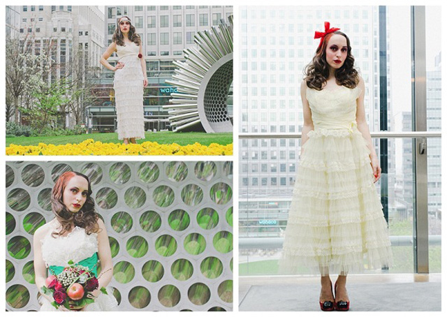Original Vintage Wedding Dresses: Dita Florita