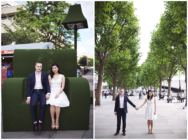 A Very London Engagement Shoot