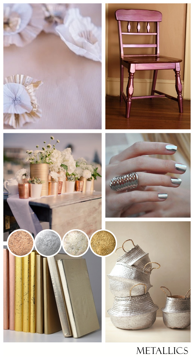 Metallics: Modern | Wedding Inspiration