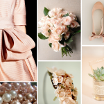 Blushing Bride Inspiration Board ~ Burnett's Boards