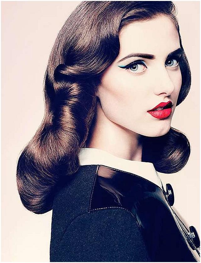 Modern vintage bride ~ makeup trends 2012