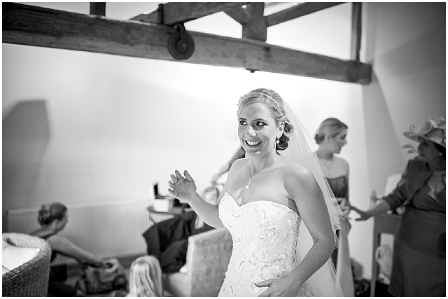 A traditional barn wedding with a touch of shabby chic