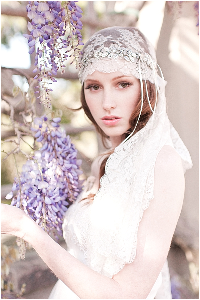 Gabriella Vine with French Veil (1)